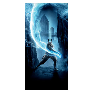 Avatar: The Last Airbender. Размер: 60 х 120 см